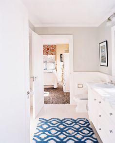 Bathroom - Gris y blanco