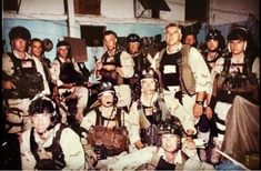 US Delta Force C Squadron operators before Operation Gothic Serpent