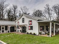 We'd like to live in this barn!  More stunning photos:  http://www.zillow.com/homedetails/4001-Estes-Rd-Nashville-TN-37215/108770339_zpid/?utm_source=email&utm_medium=email&utm_campaign=emm-1113_RennovatedBarns-Rusticluxedesktop