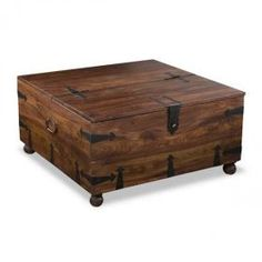 Tahoe Bar Square Coffee Table