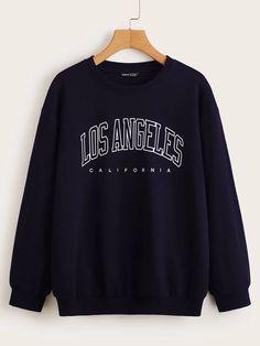 Sweat Shirt, Printed Sweatshirts, Hoodies, Sweatshirts Vintage, Cute Sweatshirts, Inspiration Mode, Loose Tops, Pullover, Teen Fashion Outfits