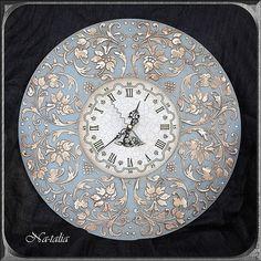 Часы для дома ручной работы. Ярмарка Мастеров - ручная работа Часы Ангельские…