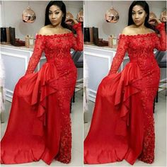 Hello Lovers of Fashion here are trending aso ebi long gown lace for your wedding.check below for your favourite style . Aso ebi lace gown styles 2018 As Aso Ebi Lace Styles, Ankara Long Gown Styles, Lace Dress Styles, Ankara Styles, African Dresses For Women, African Attire, African Fashion Dresses, African Outfits, Nigerian Outfits