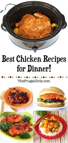 Best Chicken Recipes for Dinner! ~ from TheFrugalGirls.com ~ Give your chicken dinner a serious makeover! You'll love this HUGE list of simple meals packed with flavor!