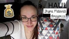 Haul | Thyme Maternité + Amazon.ca