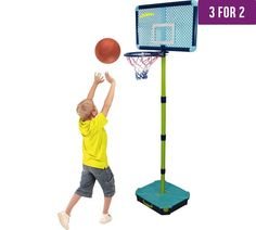 Buy All Surface Junior Basketball Set at Argos.co.uk, visit Argos.co.uk to shop online for 3 for 2, Toys