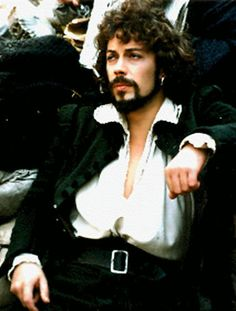 Tim Curry - extraordinary actor and voice-artist. Technically, I didn't see him. I was in the building though. At the Roxy, Hollywood. For the album Read My Lips.