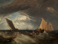 The Junction of the Thames and the Medway -     Joseph Mallord William Turner