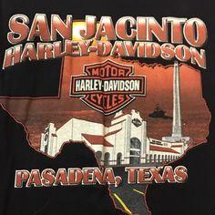 Harley Shirts, Harley Davidson T Shirts, Harley Davidson Motorcycles, Pasadena Texas, Harley Dealer, Harley Davidson Dealership, Biker Quotes, San Jacinto, Tee Shirt Designs