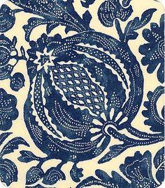 NINA'S APARTMENT - RETRO and VINTAGE FURNITURE: Feeling the blues: indigo fabrics and patterns