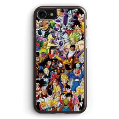 Dragon Ball Z Insane Amount of Characters Apple iPhone 7 Case Cover ISVD922