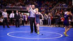Transgender boy wins girls' wrestling title. A mix of cheers and boos were directed at a 17-year-old transgender boy after winning the Texas state girls' wrestling title. CNN's Polo Sandoval reports on the controversy.