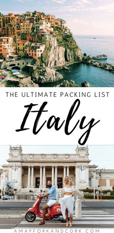 What to wear in Rome: The best Italy packing list! Italy | Travel | Packing | Tips | Outfits | Guide #Rome #Italy #Packing