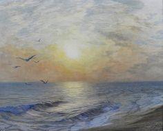 Arthur Palliser Severn (1842-1931), Golden Light - 1883