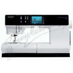 PFAFF Performance 5.0 Sewing Machine  My new love! Awesome machine. Thanks Austin Sewing Machine :)