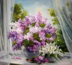 Aprite il cuore, come fosse una finestra, e lasciate entrare  un po' di Primavera anche nella vostra vita. Antonio Curnetta.  Dipinto di: Anca Bulgaru.