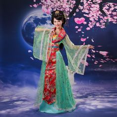 free P&P***** Costume clothes fairy tang suit hanfu female dance clothes clothing hanfu(China (Mainland))