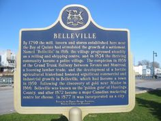 Belleville Belleville Ontario, My Town, Genealogy, Places To Travel, How To Become, Canada, Backyard, Yard, Travel Destinations