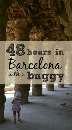 Wondering what to do in Barcelona with kids? The Tin Box Traveller family had 48 hours to explore. Here's how they did Barcelona with a buggy and toddlers