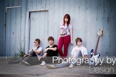Shaded Grey - Band Photography