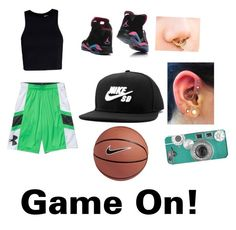 """Game On!"" by roseashlove ❤ liked on Polyvore featuring T By Alexander Wang, NIKE, women's clothing, women's fashion, women, female, woman, misses and juniors"