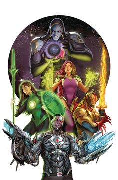 Darkseid on the Justice League? Justice League Odyssey comic set to include Darkseid, Green Lantern Jessica Cruz, Azrael, Starfire (from Teen Titans), and their leader Cyborg. Justice League Team, Justice League Comics, Arte Dc Comics, Dc Comics Art, Comic Book Artists, Comic Books Art, Comic Art, Univers Dc, Supergirl Comic