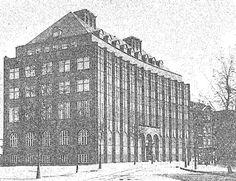 ortskrankenkasse. the dark side of modern architecture in Gdansk.