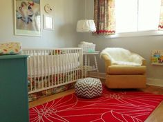 Baby T's Nursery, from You Frill Me blog  www.youfrillme.com