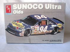 AMT NASCAR Terry Labonte Sunoco Ultra Olds Model Kit Skill 3 Scale 1 25 Ertl | eBay