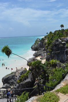 The Mayan ruins in Tulum, Mexico.