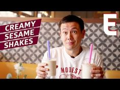 Tehina Milkshakes Are the Best Way to Follow Falafel and Fries — Dining on a Dime - YouTube