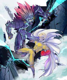 Saitama vs Lord Boros. #OnePunchMan