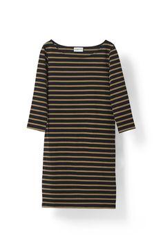 Old Spice Jersey Dress - Ganni