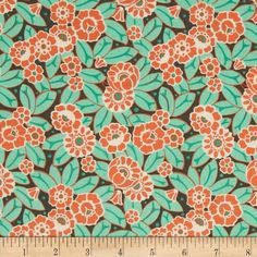 Maxine Sayings 50 x 55cm Lime Coloured Fat Quarter Cotton Quilting Fabric