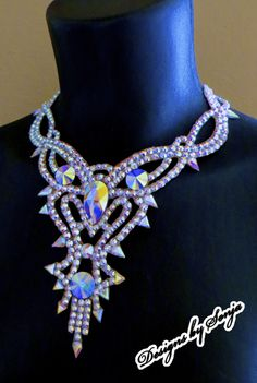 Ballroom jewelry, Swarovski ballroom accessories designed and created by Sonja Ballin. All Jewelry Designs copyright ©2016, Sonja Ballin of Tampa Bay, Florida.  www.sonjadesigns.com Check us out  (and like) on Facebook:  https://www.facebook.com/pages/Designs-By-Sonja/220737151285770