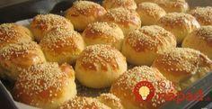 Mäkučké sezamové žemle s jednoduchou a rýchlou prípravou!