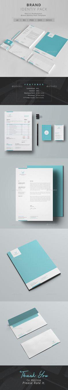 #Corporate #Identity - #Stationery Print Templates https://graphicriver.net/item/corporate-identity/20339647?ref=alena994