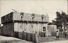 Pilgrim First Fort and Meeting House 1622-1623 Plymouth Massachusetts