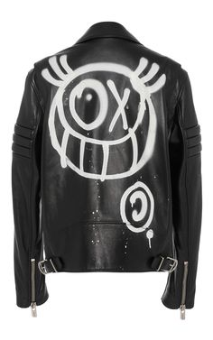 M'O Exclusive Andre Saraiva Men's Motorcycle Jacket by BALLY Now Available on Moda Operandi