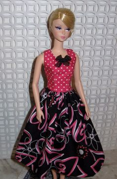 Ooak Vintage  Fashion for Barbie Silkstone & Victoire Roux  #Custommade