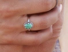 ✤ TURQUOISE STAR EYE RING ✤    This pretty little turquoise ring is unique in design and we hand cut the casing of the turquoise stone to give it