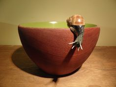 Slow bowl. $155.00, via Etsy.