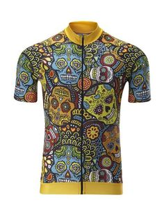 Mexican Candy Skull Jersey - Classic Cut