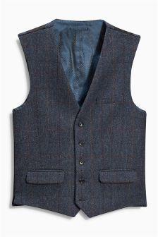 Buy Waistcoats from the Next UK online shop Blue Check, Next Uk, Uk Online, British, Vest, Jackets, Stuff To Buy, Shopping
