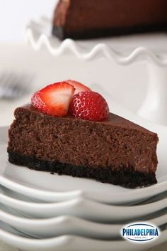 It may be a bold move to call this Our Best Chocolate Cheecake, but this recipe is so good it definitely deserves the title. It's the perfect recipe for your special Valentine because really... don't they deserve the best? ;)