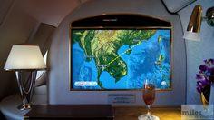 Flugroute Bangkok nach Hong Kong - Check more at http://www.miles-around.de/trip-reports/first-class/emirates-airbus-a380-800-first-class-bangkok-nach-hong-kong/,  #A380-800 #Airbus #Airport #avgeek #Aviation #Bangkok #BKK #Dusche #Emirates #FirstClass #Flughafen #HKG #HongKong #Lounge #Suite #Trip-Report