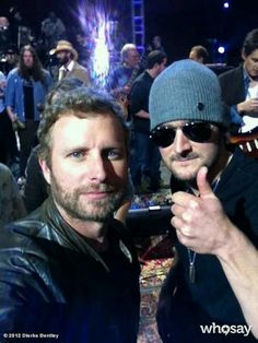 Dierks Bentley & Eric Church, my two favorites in country music! oh hells yeah! Country Music Artists, Country Music Stars, Country Singers, Country Strong, Country Men, Country Girls, Outlaw Country, Ec 3, This Is Your Life