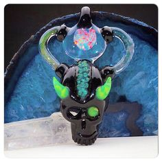 """Big Z x Aquarius """"Opal Infusion"""" Pendant Collaboration $1550 (Down from 2k) at TheHeadyHive.com!"""