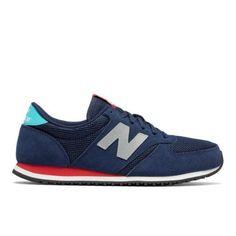420 New Balance Men's & Women's Running Classics Shoes - Navy/Silver/Blue (U420NST)