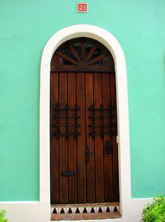 Puerta #21, Old San Juan, Puerto Rico